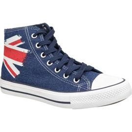 Lee Cooper High Cut 1 LCWL-19-530-041 Schuhe blau
