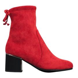 Goodin Stilvolle rote Stiefel