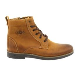 Hohe Stiefel mit Reißverschluss Riko 884 verrückt sonnig
