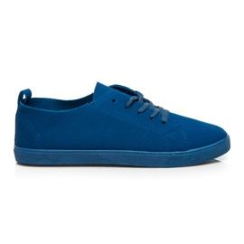 SDS Schnürschuhe blau