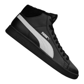 Puma Smash V2 Mid L Pelz Jr 366895-05 Schuhe schwarz
