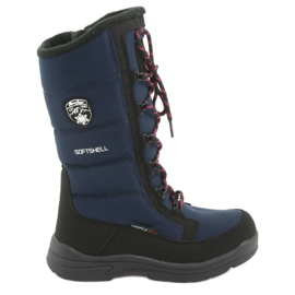 Schneeschuhe mit American Club SN12 Membran Marineblau