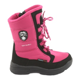 Schneeschuhe mit American Club SN13 Membran pink / schwarz