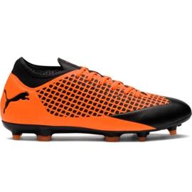 M Puma Future 2.4 Fg Ag 104839 02 Fußballschuhe orange schwarz, orange