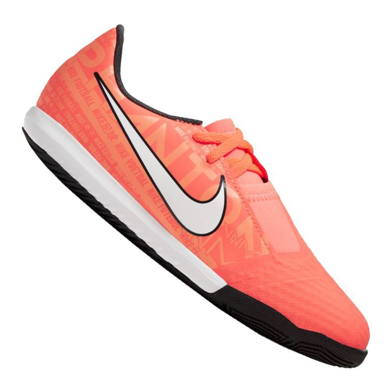 Nike Phantom Vnm Academy Ic Jr AO0372-810 Schuhe orange schwarz