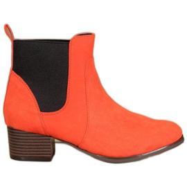 Kylie Klassische Jodhpur Stiefel orange