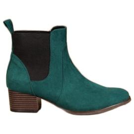 Kylie Klassische Jodhpur Stiefel grün