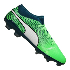 Puma One 18.2 Fg M 104533-04 Fußballschuhe grün grün