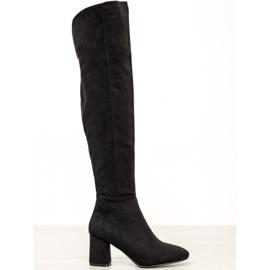 Seastar Elegante hohe Stiefel schwarz