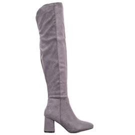 Seastar Elegante hohe Stiefel grau