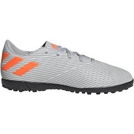 Adidas Nemeziz 19.4 Tf Jr EF8306 Fußballschuhe orange, grau / silber grau