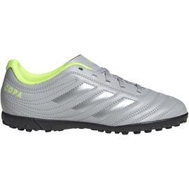 Adidas Copa 20.4 Tf Jr EF8359 Fußballschuhe grau / silber grau