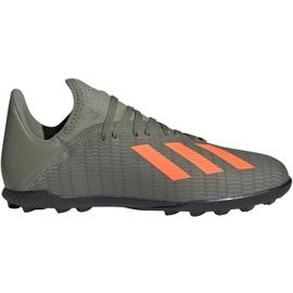 Adidas X 19.3 Tf Jr EF8375 Fußballschuhe grün grün