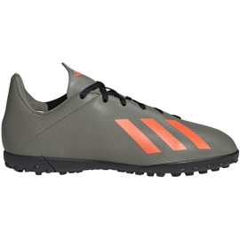 Adidas X 19.4 Jr Tf EF8378 Fußballschuhe grün grün