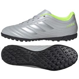 Adidas Copa 20.4 Tf M EF8356 Fußballschuhe grau / silber silber