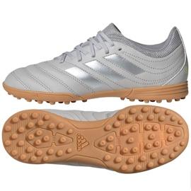 Adidas Copa 20.3 Tf Jr EF8343 Fußballschuhe grau / silber grau
