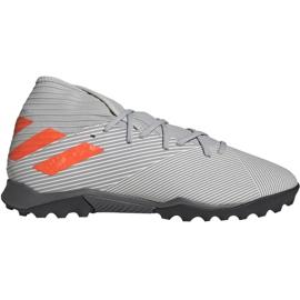 Adidas Nemeziz 19.3 M Tf EF8291 Fußballschuhe grau grau / silber