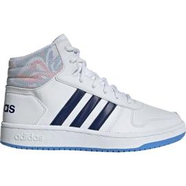 Adidas Hoops Mid 2.0 Jr EE8546 Schuhe weiß