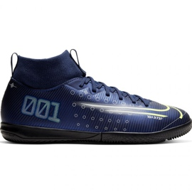 Nike Mercurial Superfly 7 Akademie Mds Ic Jr BQ5529 401 Fußballschuhe marine marineblau