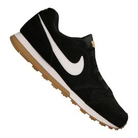 Nike Md Runner 2 Suede M AQ9211-001 Schuhe schwarz