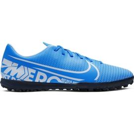 Nike Mercurial Vapor 13 Club M Tf AT7999 414 Fußballschuhe blau blau