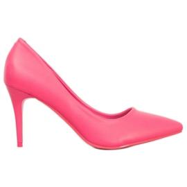 Kylie Rosa Pumpen pink