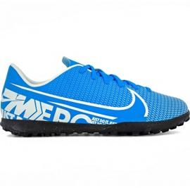 Nike Mercurial Vapor 13 Club Tf Jr AT8177 414 Fußballschuhe blau