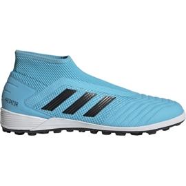 Adidas Predator 19.3 Ll Tf M EF0389 Fußballschuhe blau schwarz, blau