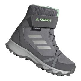 Adidas Terrex Snow Cf Cp Cw Jr G26580 Schuhe grau