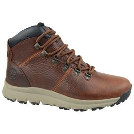 Timberland World Hiker Mid M A213Q Schuhe braun