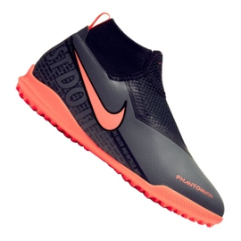Nike Phantom vsn Academy Df Tf Jr AO3292-080 Fußballschuhe schwarz