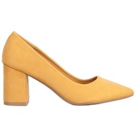 Seastar Elegante Pumpen gelb