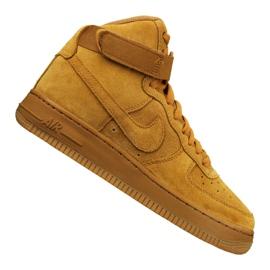 Nike Junior Air Force 1 High Lv 8 Gs Junior 807617-701 Schuhe gelb
