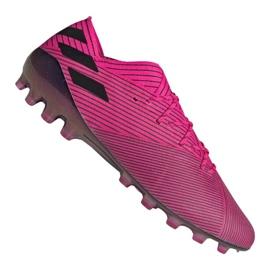 Adidas Nemeziz 19.1 Ag Fg M FU7033 Fußballschuhe pink