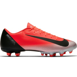 Nike Mercurial Vapor 12 Akademie CR7 Mg M AJ3721 600 Fußballschuhe rot