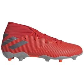 Adidas Nemeziz 19.3 Fg M F34389 Fußballschuhe rot