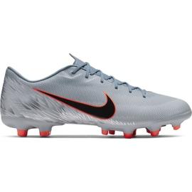 Nike Mercurial Vapor 12 Akademie Mg M AH7375 408 Fußballschuhe grau