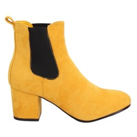 Gelbe Jodhpurstiefel gelb 2208-132 gelb