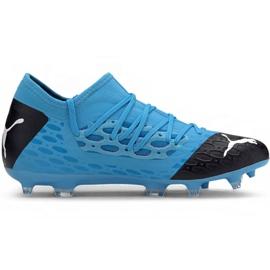 Puma Future 5.3 Netfit Fg Ag M 105756 01 Fußballschuhe blau blau