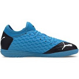 Hallenschuhe Puma Future 5.4 It Jr 105814 01 blau