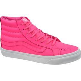 Vans Sk8-Hi Slim W VA32R2MW4 Schuhe pink