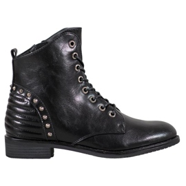 Elegante VINCEZA Stiefel schwarz