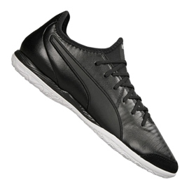 Puma King Pro It M 105669-01 Hallenschuhe schwarz schwarz
