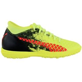 Puma Future 18.4 Tt M 104339 01 Fußballschuhe schwarz, grün, orange gelb
