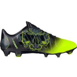 Puma evoPOWER 1.3 Graphic Fg M 103769 01 Fußballschuhe schwarz, grün mehrfarbig