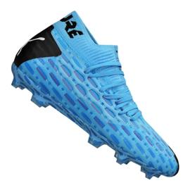 Puma Future 5.1 Netfit Fg / Ag Jr 105805-01 Fußballschuhe blau blau