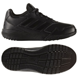 Adidas Alta Lauf K Jr BA7897 Trainingsschuhe schwarz