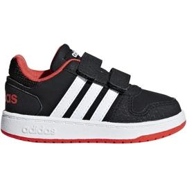 Adidas Hoops 2.0 Cmf I Jr B75965 Schuhe schwarz