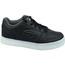 Skechers Energy Lights Jr 90601L-BLK Schuhe schwarz
