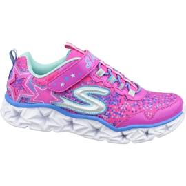 Skechers Galaxy Lights Jr 10920L-NPMT Schuhe pink